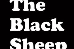 Logo The Black Sheep zwart-blok